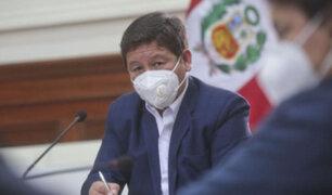 Guido Bellido se reunió con las bancadas de Podemos Perú, Avanza País y Alianza para el Progreso