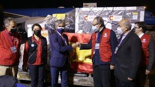 COVID-19: Perú recibió 101 760 dosis de vacunas AstraZeneca donadas por España