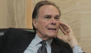 Gobierno designa a Harold Forsyth como representante del Perú ante la OEA