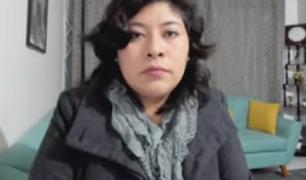 """Betsy Chávez: """"Yo creo que sí le van a  dar el voto de confianza al Gabinete de Bellido"""""""