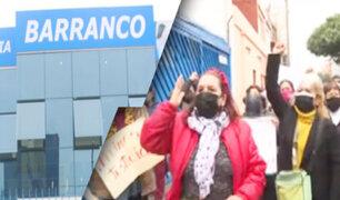 Asegurados rechazan cierre de sede de Essalud en Barranco