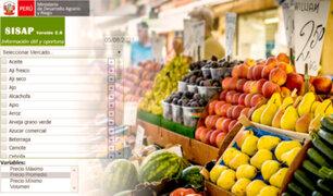 """""""SISAP"""": aprenda a usar este sistema y conozca precios actuales de los alimentos en el país"""