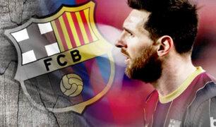 ¡Es oficial!: Lionel Messi deja Barcelona, según confirmó el club español