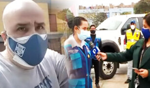 Sujeto insulta a fiscalizadora porque grúa se llevaba su auto en San Luis