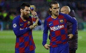 Hinchas del Barcelona culpan a Antoine Griezmann de la salida de Lionel Messi