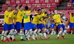Tokio 2020: Brasil venció 2-1 a España y logró el oro  olímpico de fútbol