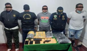 Madre de Dios: Policía Nacional interviene a tres presuntos raqueteros