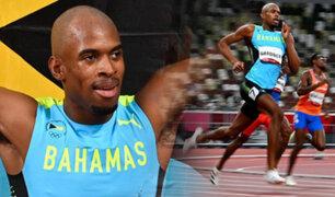 Tokio 2021: Bahamas se queda con el oro en 400 metros planos