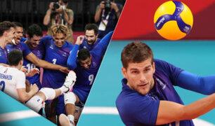 Tokio 2020: Francia ganó su primer oro en voleibol masculino