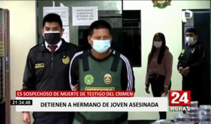 VES: detienen a hermano de adolescente asesinada