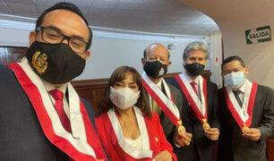 Premier Bellido se reunirá este lunes con integrantes de la bancada Somos Perú-Partido Morado