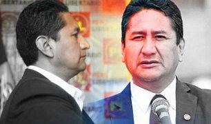 Vladimir Cerrón: Procuraduría anticorrupción incautará el pago de su reparación civil