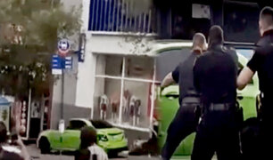 Imprudente chofer deja 14 heridos por escapar de la Policía en EEUU