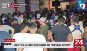 Pucallpa: realizan operativos contra locales que organizaban 'fiestas COVID'