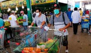 Indecopi entregará a la Fiscalía datos sobre alza de precios en mercados y supermercados