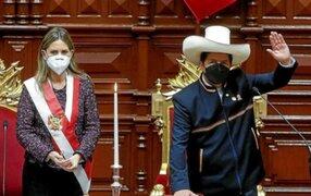 Presidenta del Congreso pide a Pedro Castillo convocar urgentemente a un Consejo de Estado