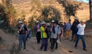 Región Áncash: mujer muere tras quedar atrapada en incendio forestal