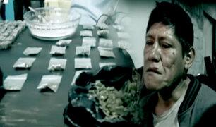 """Independencia: detienen a """"caracha"""" por comercializar droga desde su casa"""