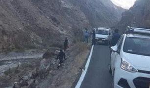 Despiste de auto deja tres muertos y cuatro heridos graves en Huancavelica