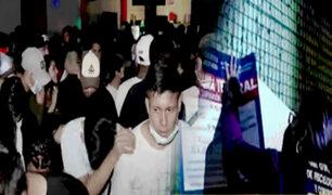 Intervienen a cientos de personas que participaban en fiestas COVID-19 en Pucallpa