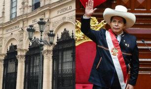 """Defensor del Pueblo se mostró """"muy satisfecho"""" por """"receptividad"""" de Castillo tras reunión en Palacio"""