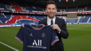 OFICIAL: Lionel Messi fue anunciado como nuevo jugador del PSG