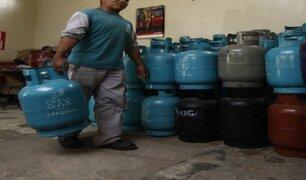 Precio del balón de gas baja en algunos distritos de Lima Metropolitana