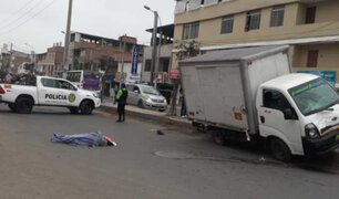 VES: vecinos de Av. Micaela Bastidas denuncian constantes accidentes vehiculares