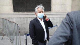 Virgilio Acuña tras reunión con Castillo: No he tratado ningún tema de Antauro Humala