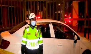 Los Olivos: chófer muere baleado huyendo de sicario