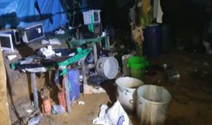 VRAEM: destruyen laboratorio clandestino en el que se preparaba droga