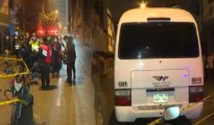 """San Luis: Asesinan a joven para robarle su celular en custer del """"Chosicano"""""""