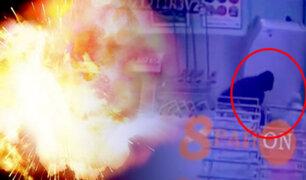 Ladrones rusos casi mueren por bomba que explotó antes de tiempo