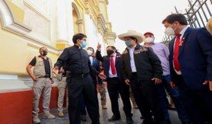 Piuranos piden al presidente Castillo que entregue los S/ 19 millones ofrecidos luego del sismo