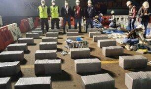 Callao: decomisan 2 toneladas de cocaína en cargamento de café que tenían como destino Bélgica