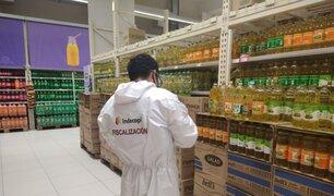 Indecopi inició fiscalización de precios del pollo, aceite, leche y balón de gas