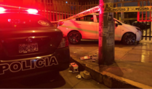 Los Olivos: peatón fue atropellado por chofer que perdió control y murió tras recibir balazo
