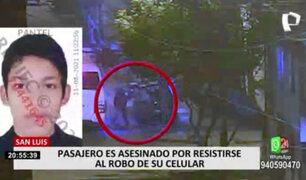 San Luis: vecinos piden más seguridad tras asesinato de joven por resistirse a robo
