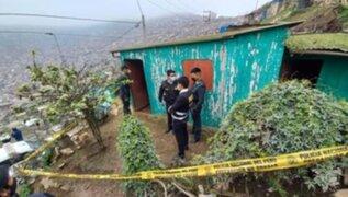 Ayacucho: capturan a sujeto sindicado de asesinar y enterrar a su esposa debajo de su cama en VMT