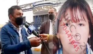 Progenitor de niña calcinada en cilindro pide que no liberen a los implicados en crimen