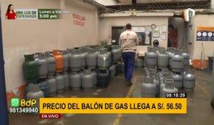 La Victoria: precio del balón de gas llega hasta los S/56.50 en distribuidoras