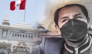 Congreso aprueba investigar presuntas irregularidades en primeros días de gobierno de Castillo