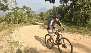 Pepe Ricse y su lucha contra el cáncer: El secreto está en seguir pedaleando