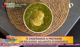 Cocina D'mañana: aprende a preparar un delicioso y económico aguadito de pollo
