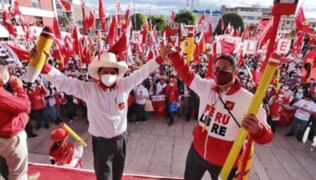 Solicitan a la ONPE informes sobre ingresos y gastos de Perú Libre en campaña electoral