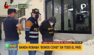 """""""Los hackers de Trujillo"""": delincuentes informáticos robaban bonos covid en todo el país"""