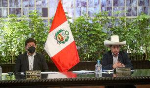 Presidente Castillo encabeza hoy sesión del Consejo de Ministros en Palacio de Gobierno