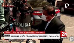 """Walter Ayala: """"Congreso debe dejarnos trabajar para que nos pueda evaluar"""""""