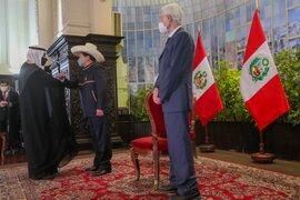 """Pedro Castillo: """"Pueden encontrar en el Perú a un socio confiable para incrementar relaciones comerciales"""""""