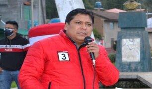Junín: Eduardo Bendezú reapareció durante aniversario de Perú Libre en Huancayo